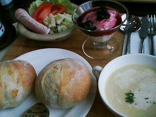 3月3日の昼ご飯:きっちん柏木(函館)