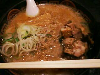 3月7日の夕ご飯:らーめん 炙(函館)