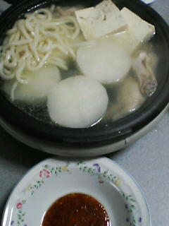 3月16日の夕ご飯:具沢山湯豆腐
