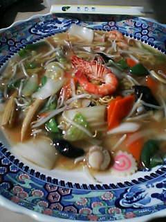 3月22日の昼ご飯:菜花館(大野)