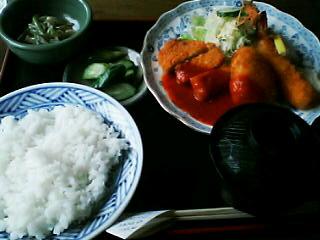 6月21日の昼ご飯