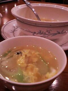 6月27日の夕ご飯(スープ)