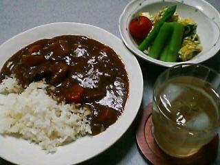 7月3日の夕ご飯