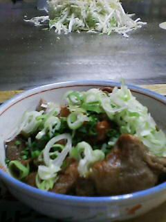 7月9日の夕ご飯:広島お好み焼き とん平(弘前)