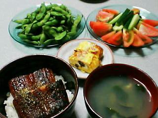 7月14日の夕ご飯