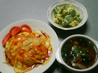 7月19日の夕ご飯