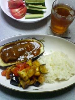 8月5日の夕ご飯