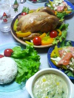 12月24日の夕ご飯
