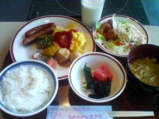 2月21日の朝ご飯