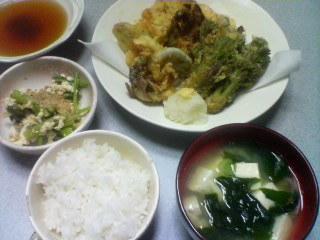 5月8日の夕ご飯