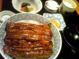 5月29日の夕ご飯:「海老助」のうな丼