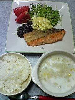 8月2日の夕ご飯