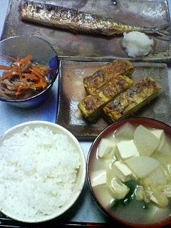 9月14日の夕ご飯