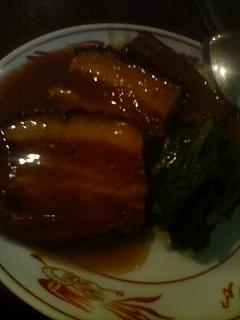 9月27日の夕ご飯(豚の角煮)