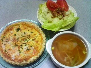10月12日の夕ご飯:シェ・モア(弘前)