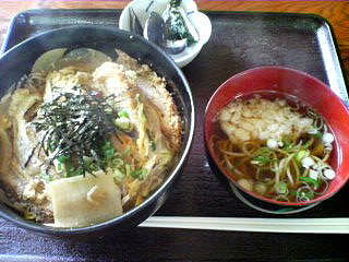 10月16日の昼ご飯:松家(岩木)