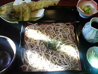 10月25日の昼ご飯:(弘前)