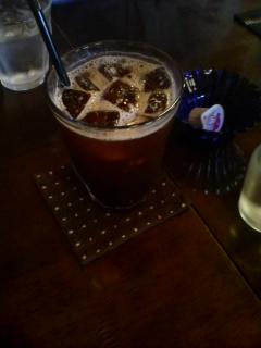 11月13日のおやつ:ル・グレ(黒石)アイスコーヒー