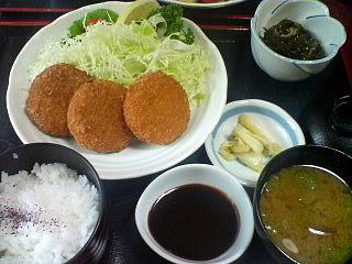 12月11日の昼ご飯:味喜や(弘前)