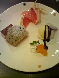 デザート盛りウ早稲