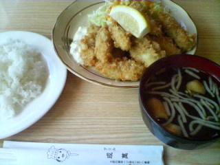 1月17日の昼ご飯:グリル成萬(五所川原)