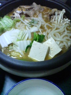 1月20日の夕ご飯:豚キムチ鍋