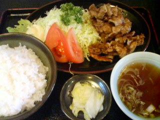 1月22日の昼ご飯:みんぱい(弘前)