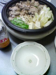 3月6日の夕ご飯:長芋団子鍋