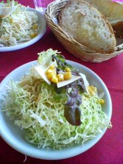 3月9日の昼ご飯:ペペロンチーニ(山形)