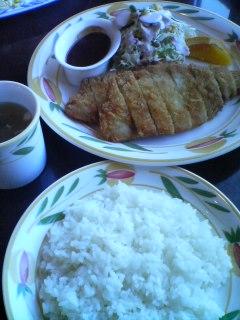 3月12日の昼ご飯:けやき(青森)