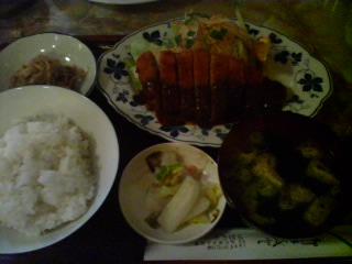3月18日の昼ご飯:キッチンささはら(弘前)