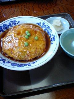 3月25日の昼ご飯:新華楼(上山)